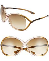 b349c88297 Lyst - Tom Ford Whitney - Tom Ford Whitney Sunglasses
