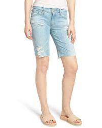 AG Jeans - Nikki Denim Shorts - Lyst