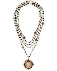 Virgins, Saints & Angels - Cloister Magdalena Rosary Necklace - Lyst