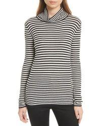 Soft Joie | Zelene Stripe Cowl Neck Sweater | Lyst