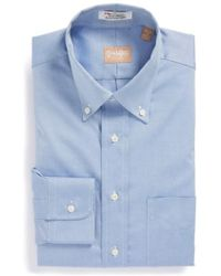 Gitman Brothers Vintage - Regular Fit Pinpoint Cotton Oxford Button Down Dress Shirt - Lyst