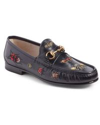 Gucci | Roos Critter Bit Loafer | Lyst