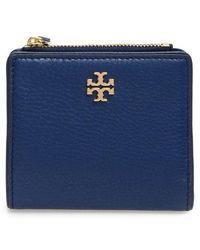 Tory Burch - Marsden Leather Mini Wallet - - Lyst