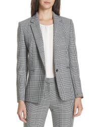 BOSS - Jemaromina Glen Plaid Suit Jacket - Lyst