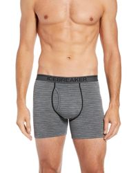 Icebreaker - Anatomica Fly Boxers - Lyst