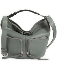 AllSaints - Fetch Leather Crossbody Bag - Lyst