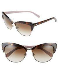 Kate Spade - Jenae 53mm Polarized Sunglasses - Lyst