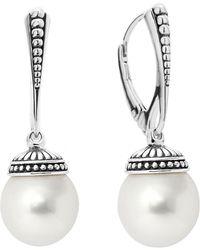 Lagos - 'luna' Pearl Drop Earrings - Lyst