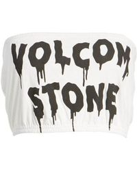 Volcom - Day By Day Tube Top - Lyst