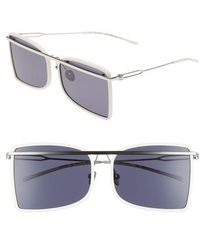 CALVIN KLEIN 205W39NYC - 60mm Butterfly Sunglasses - Lyst
