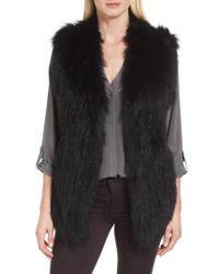 La Fiorentina | Genuine Fox Fur Vest | Lyst