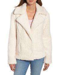 Caslon - Caslon Fleece Jacket - Lyst