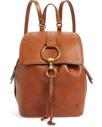 Frye - Small Ilana Leather Backpack - - Lyst