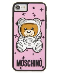 Moschino - Astronaut Teddy Iphone 8 Case - Lyst