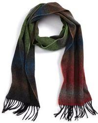 Paul Smith - Fade Stripe Wool & Cashmere Scarf - Lyst