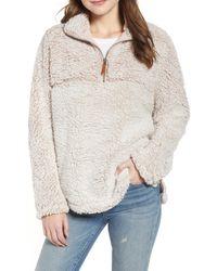 Thread & Supply - Colorblock Wubby Fleece Pullover - Lyst