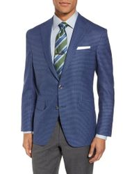 David Donahue - Arnold Classic Fit Check Wool Sport Coat - Lyst