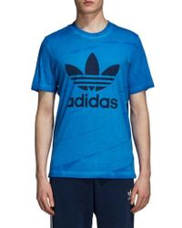 adidas Originals - Adidas Tie Dye T-shirt - Lyst