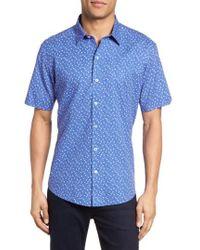 Zachary Prell - Rashid Print Sport Shirt - Lyst