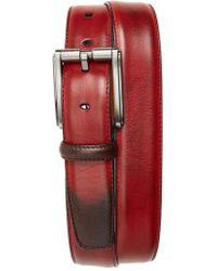 Magnanni - Boltan Leather Belt - Lyst