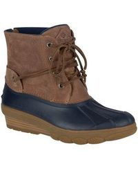 Sperry Top-Sider - Saltwater Tide Wedge Boot - Lyst