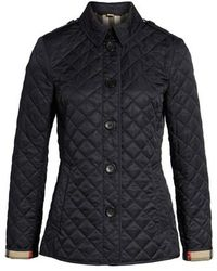 Burberry - 'ashurst' Quilted Jacket - Lyst