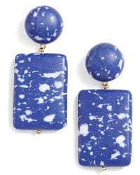 Lele Sadoughi - Keepsake Stone Drop Earrings - Lyst