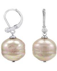 Majorica - Nuage Imitation Pearl Drop Earrings - Lyst