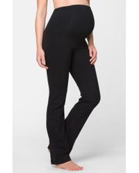 Ingrid & Isabel - Ingrid & Isabel Active Maternity Pants With Crossover Panel - Lyst