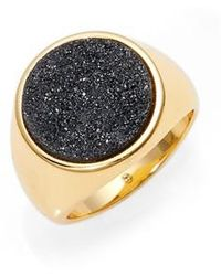 Gorjana | Astoria Drusy Statement Ring | Lyst