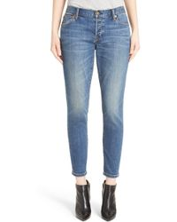 Burberry - Relaxed Skinny Jeans - Lyst