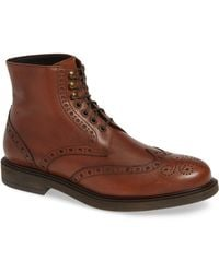 Monte Rosso - Montreux Wingtip Boot - Lyst