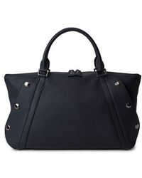 Akris - Small Aimee Leather Satchel - Lyst