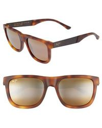 Maui Jim - Talk Story 55mm Polarized Sunglasses - Lyst