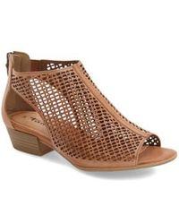 Tamaris | 'nao' Open Toe Sandal | Lyst