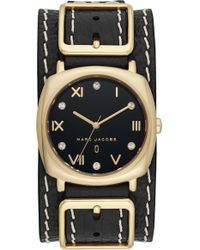 Marc Jacobs - Mandy Leather Strap Watch - Lyst