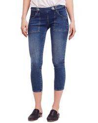 Free People - We The Free By Stratford Skinny Jeans - Lyst