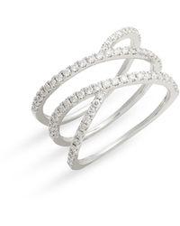 Bony Levy - Bardot Split Crossover Ring (nordstrom Exclusive) - Lyst