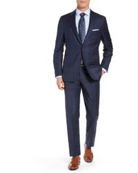 Hickey Freeman - Classic Fit Plaid Wool Suit - Lyst