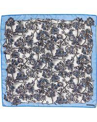 Missoni - Floral Print Square Silk Scarf - Lyst