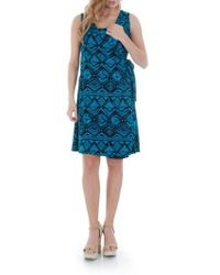 Everly Grey | Tania Stretch-Jersey Maternity Dress | Lyst