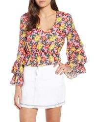 The Fifth Label - Reunion Floral Print Blouse - Lyst