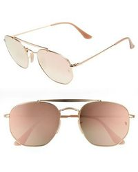 Ray-Ban - Marshal 54mm Aviator Sunglasses - - Lyst