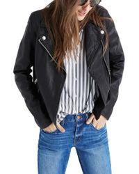 Madewell - Moto Leather Jacket - Lyst