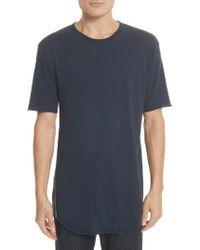 Rag & Bone - Hartley Crewneck Cotton & Linen T-shirt - Lyst