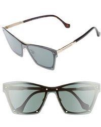 Balenciaga - 55mm Frameless Sunglasses - Lyst