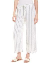 Bailey 44 - Poppy Seed Stripe Pants - Lyst