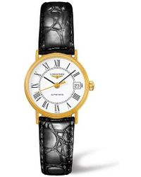 Longines - Presence Automatic Leather Strap Watch - Lyst