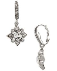 Oscar de la Renta - Delicate Crystal Drops - Lyst