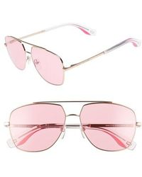 Marc Jacobs - 58mm Navigator Sunglasses - Lyst